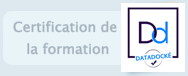 Certification de la formation.