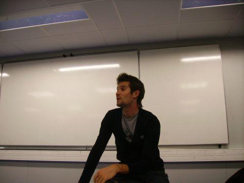 Geofroy Lequatre - conférence Ostéopathe du Sport - novembre 2008